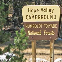 Hope Valley Campground: Humboldt - Toiyabe National Forest
