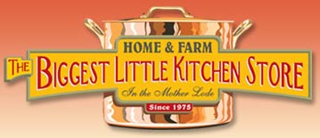 Visit The Biggest Little Kitchen Store by Home and Farm Supply online