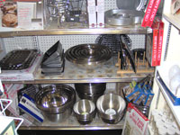 You'll find a large selection of Stainless Steel Bowls - [click for larger image]